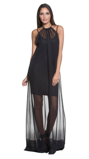 Rue 2-Piece Spaghetti-Strap Long Dress
