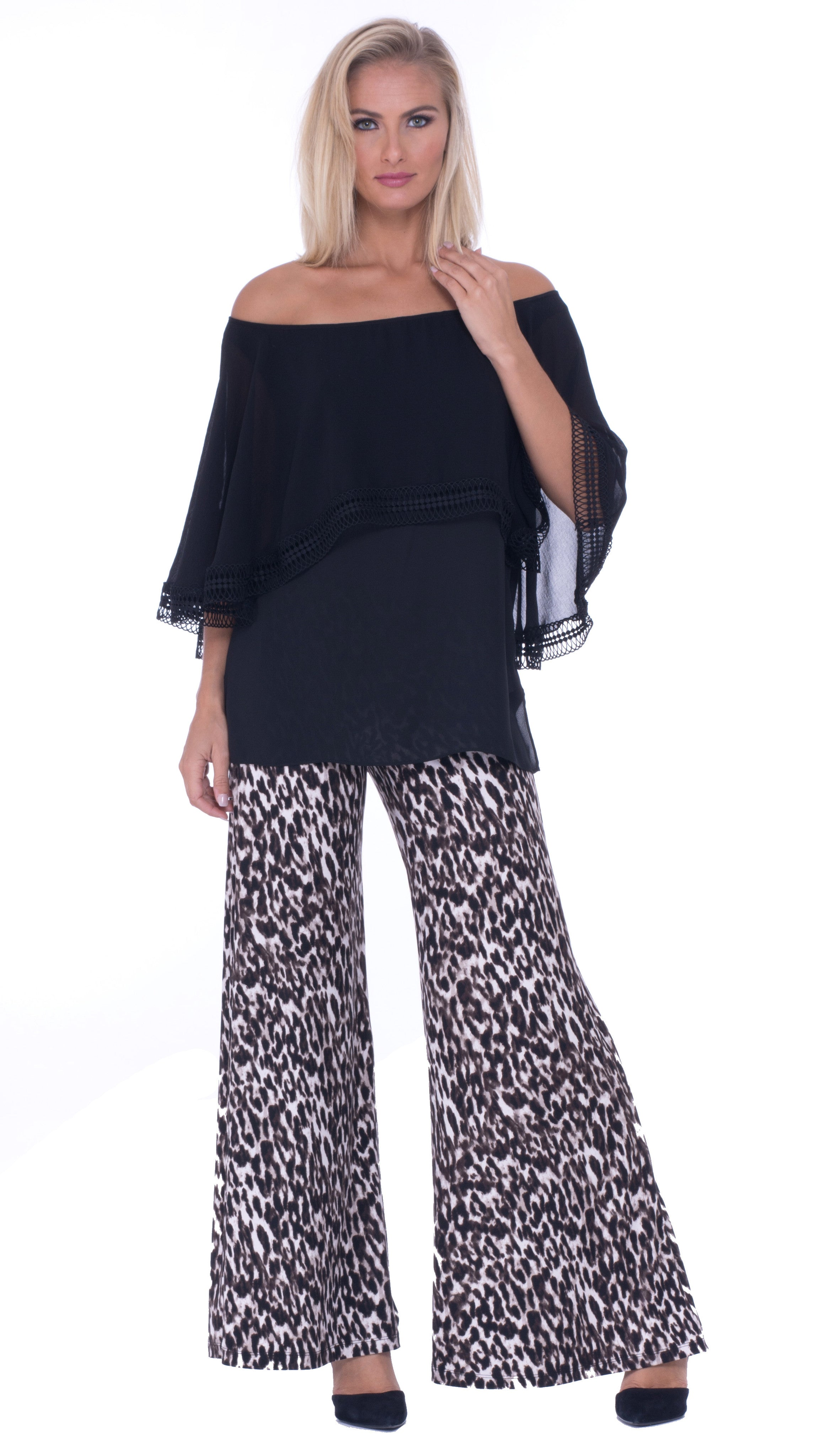 Jasmine Off The Shoulder Over layered Top