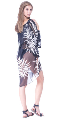 Olive Overlayer Beach Cover Up