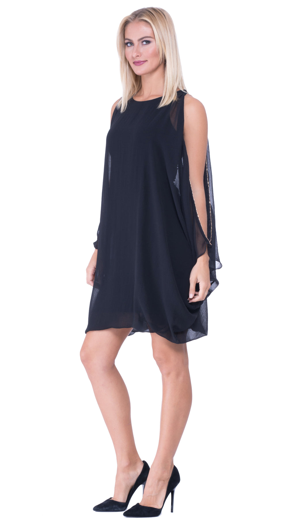 Brittney Cold Shoulder dress