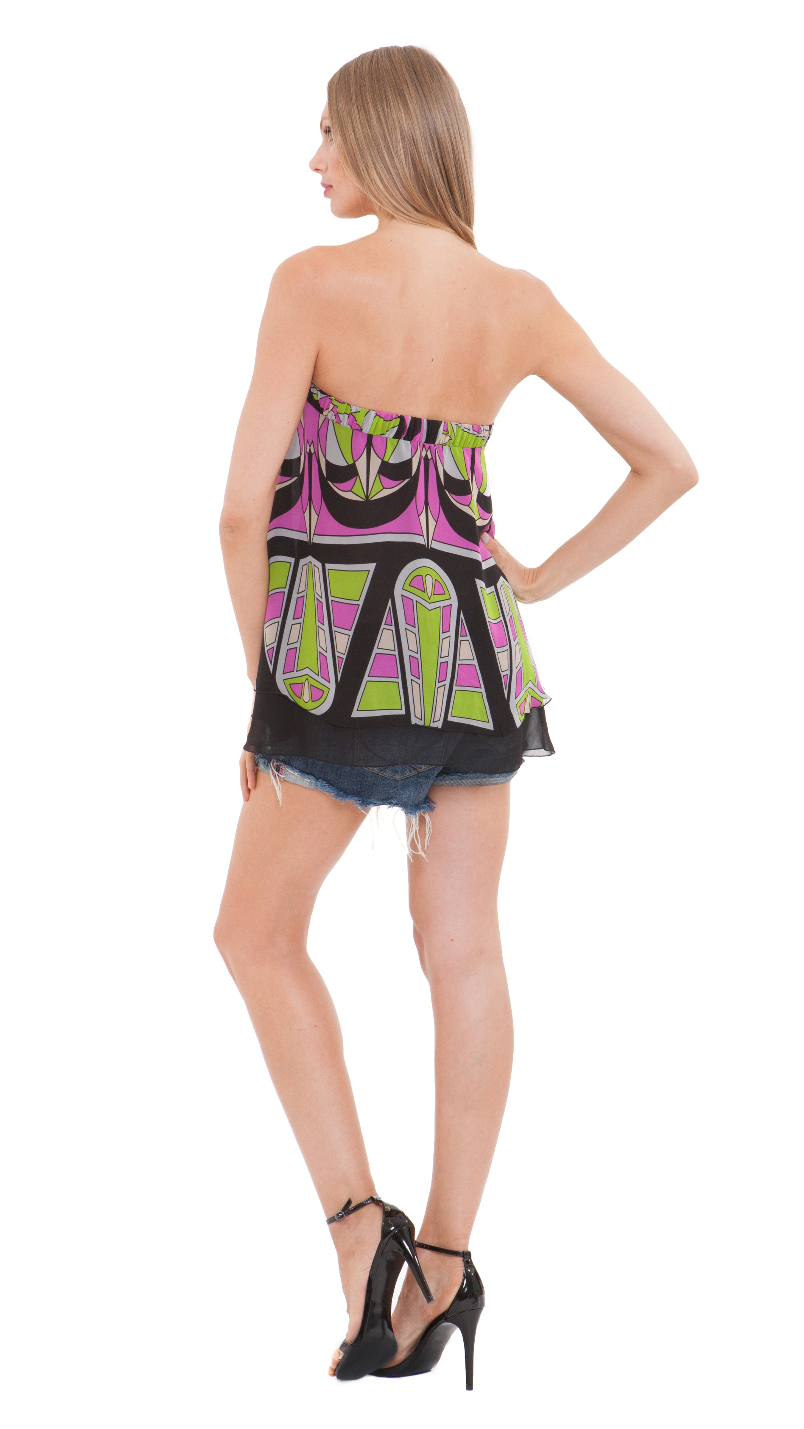 Shanna Drawstring Top