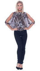 Rebekah Open Sleeve Butterfly Top
