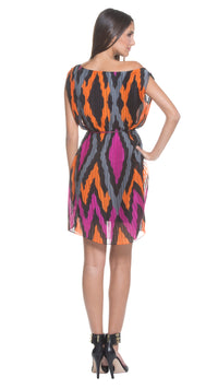 Max Pleated Shift Dress