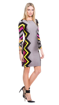 Sylvia Boat Neck Dress