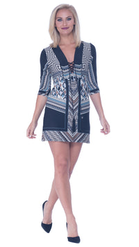 Beatrice Lace Up Tunic