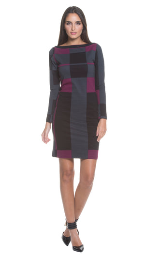 Paula Boat Neck Dress