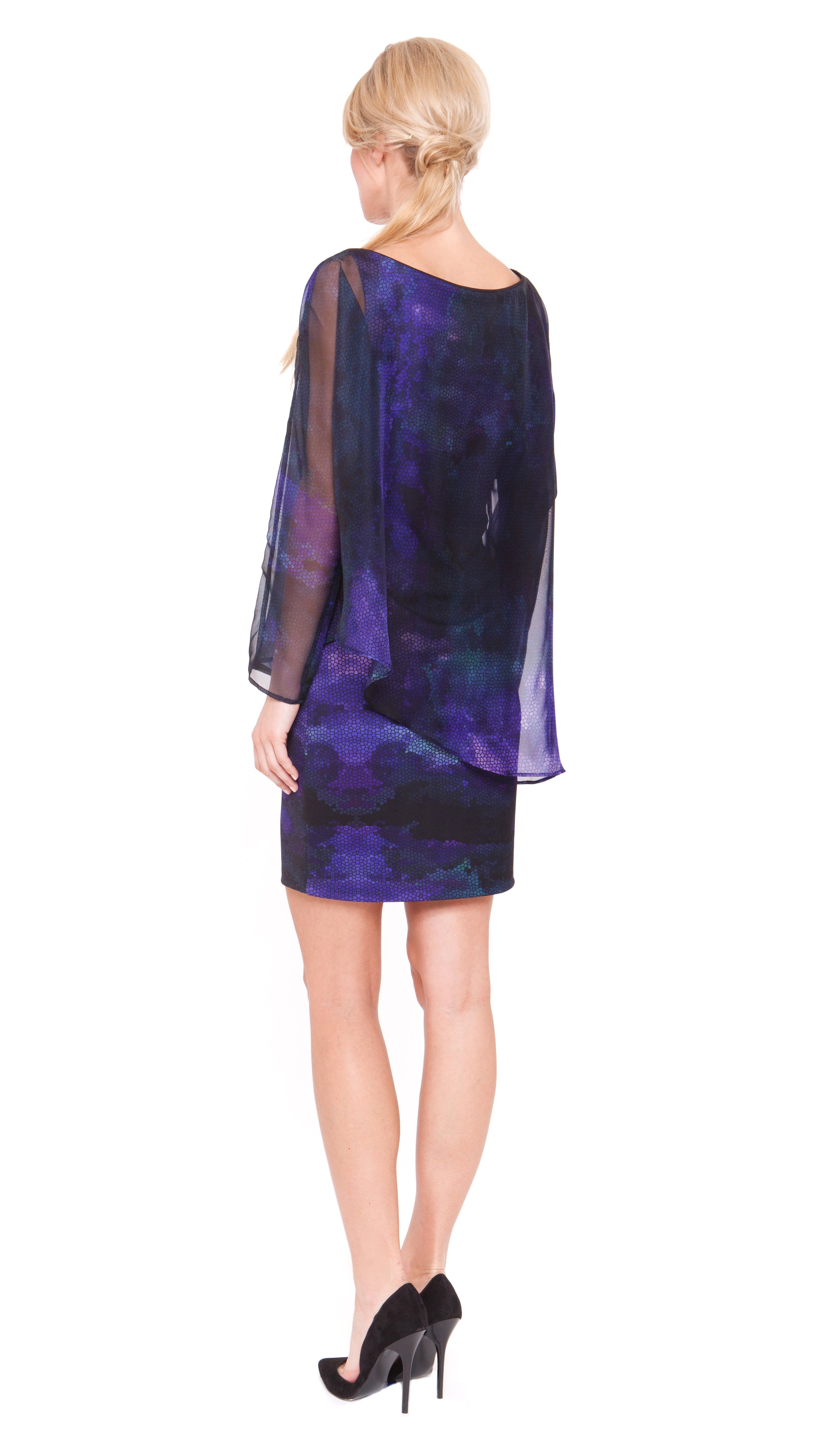 Piper Asymmetric Layer Dress