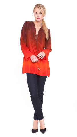 Lara Drawstring Tunic Dress
