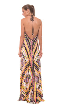 Robyn Maxi Halter Dress