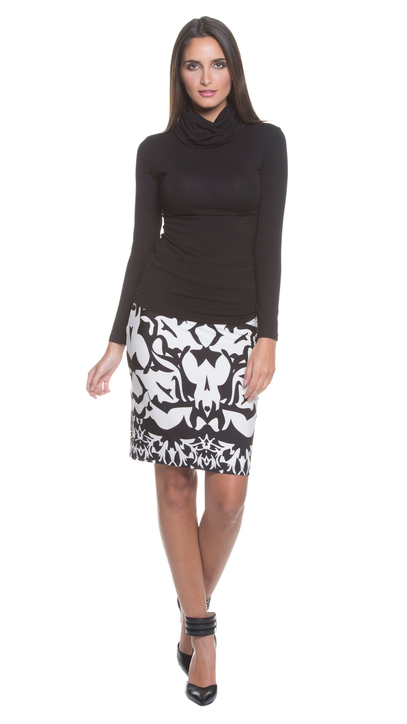 Ares Printed Skirt