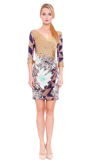 Mary Faux Wrap Dress