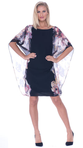 Carla Open Drape Dress