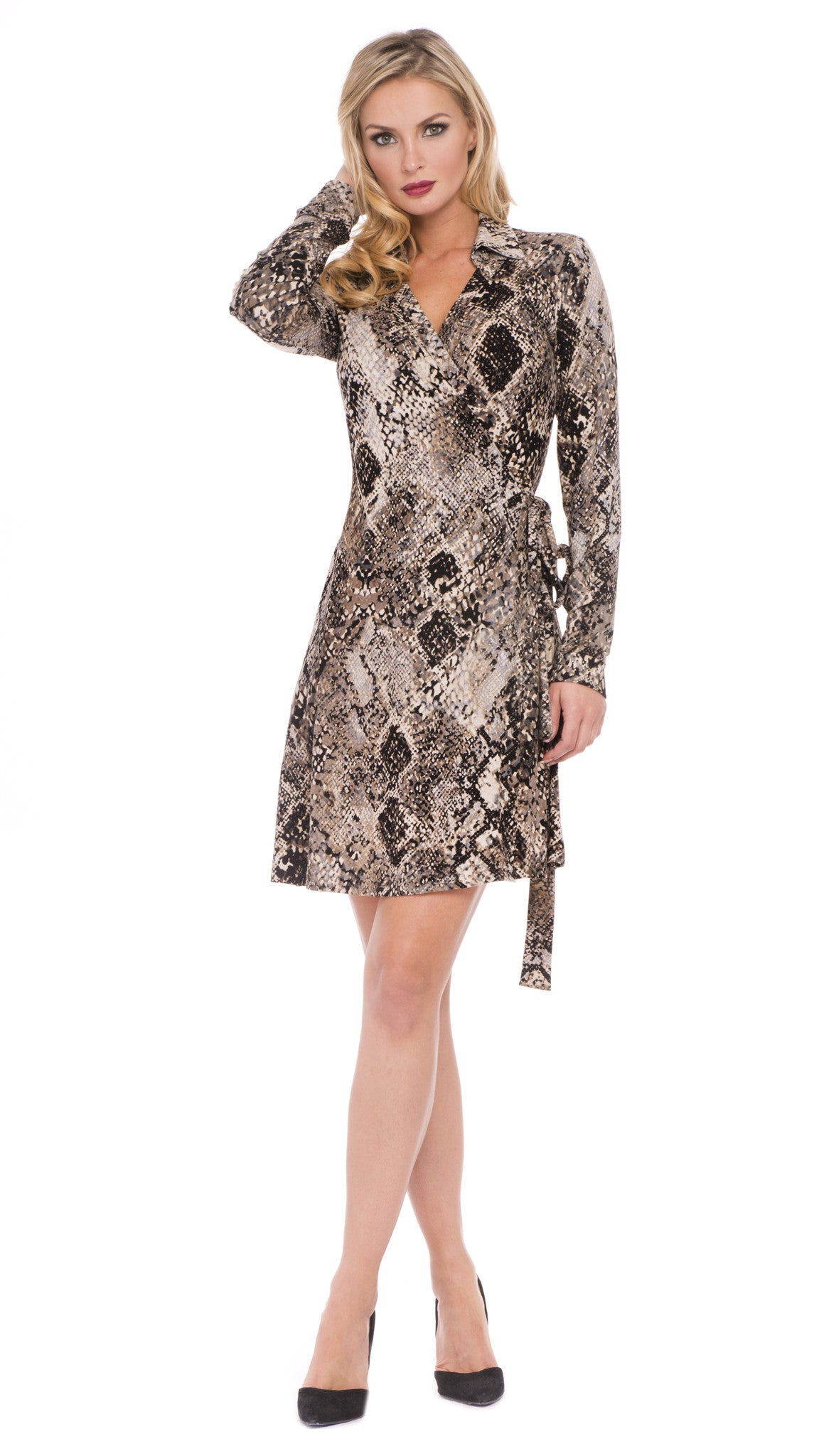 Gretta Wrap Dress