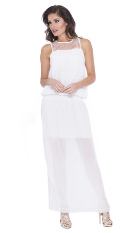 Elise Sequin Maxi Dress