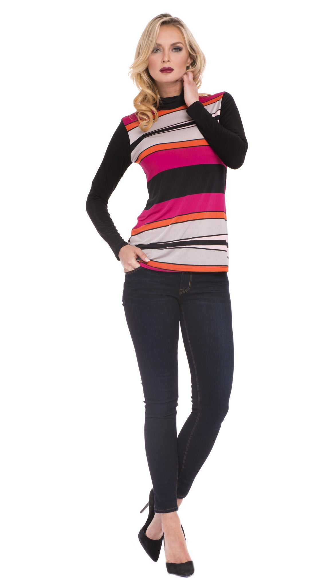 Harmony Turtleneck Top