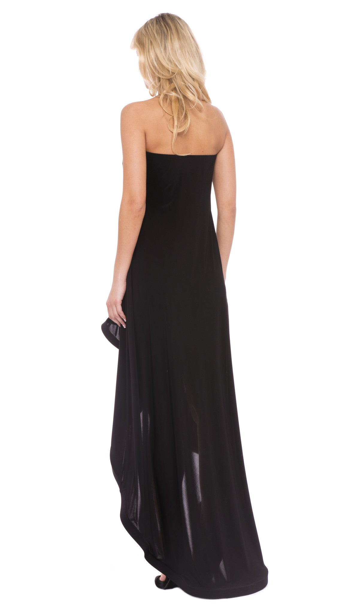 Vanessa Strapless Hi-Lo Dress