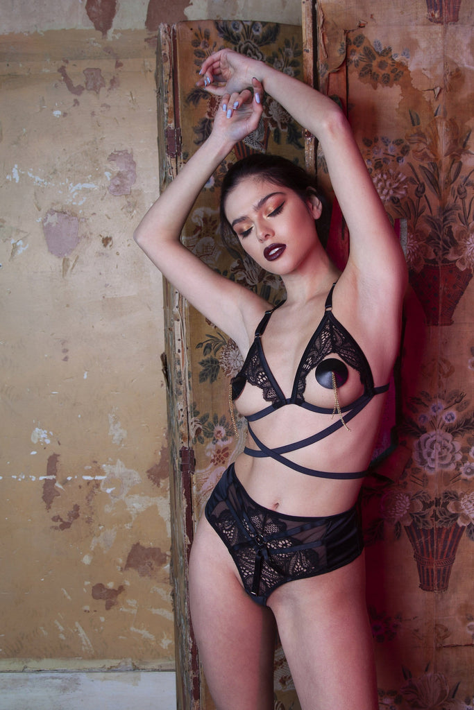 Peek & Beau Ida Open Triangle Bra
