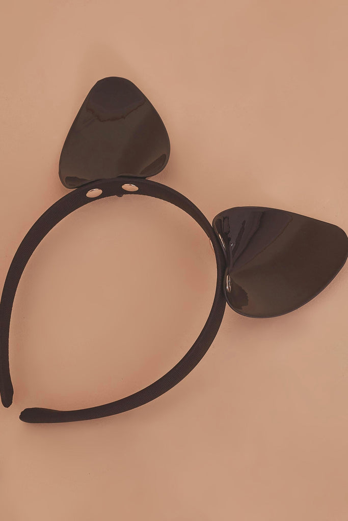 Regalia Cat Ear Headband Black