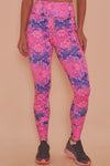 Wolf & Whistle Pink Marble Leggings