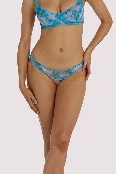 Playful Promises Joey Blue Watercolour Hipster Brief