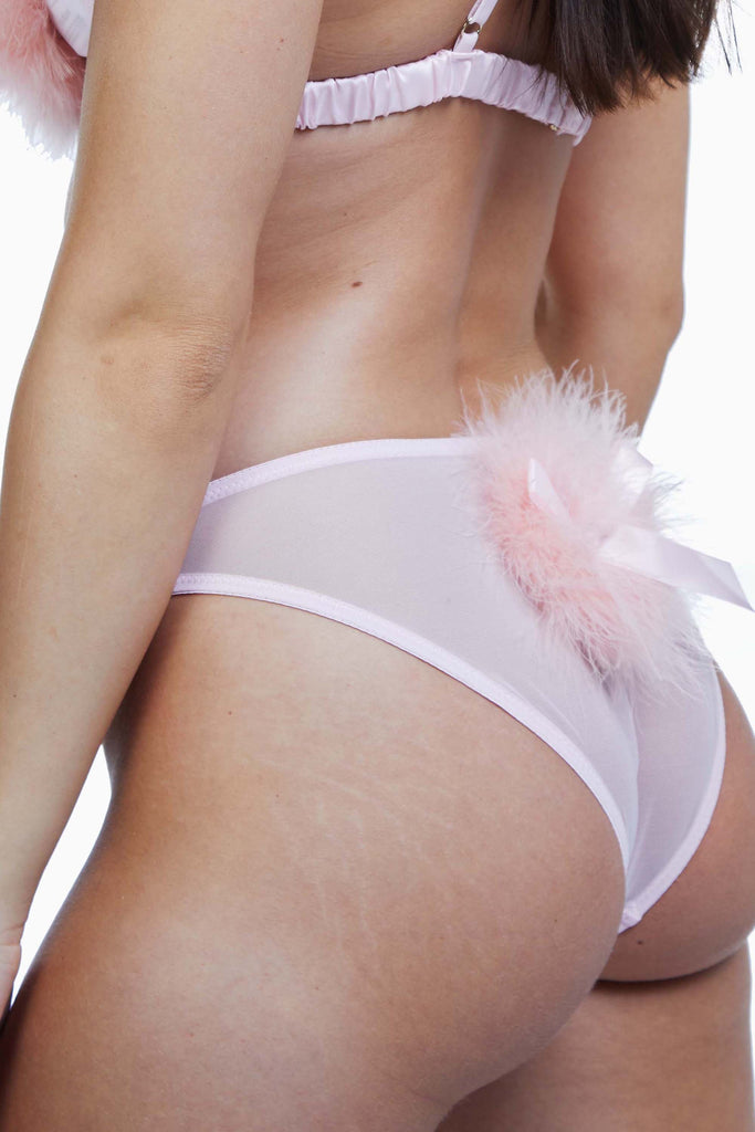 Bettie Page Powder Puff Brief Pink