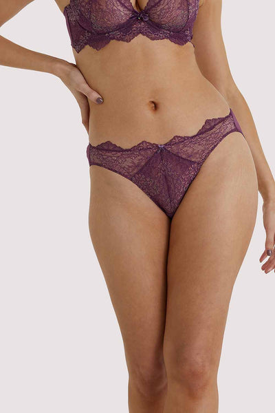 Dita Von Teese Lurex Amythest Brief