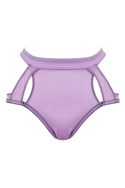 Peek & Beau Faye Lilac Peek High Waist Brief Curve