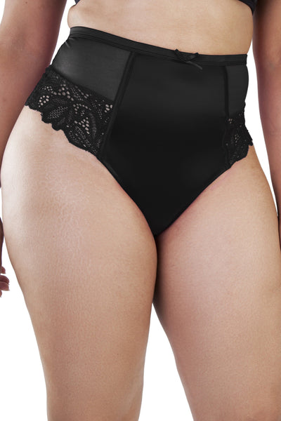 Gabi Fresh Carmen Black Thong Back HW Brief