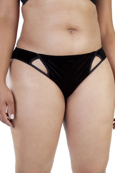Gabi Fresh Erin Black Velvet Brief