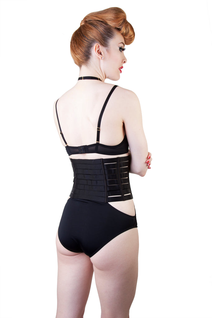 Peek & Beau Kendalle Elasticated Zip Waspie