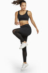 Wolf & Whistle Mesh Panel High Waisted Activewear Leggings