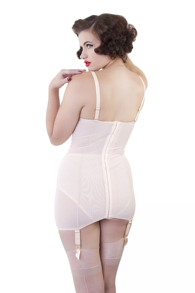 Bettie Page Curve Creator Shaping Slip Peach