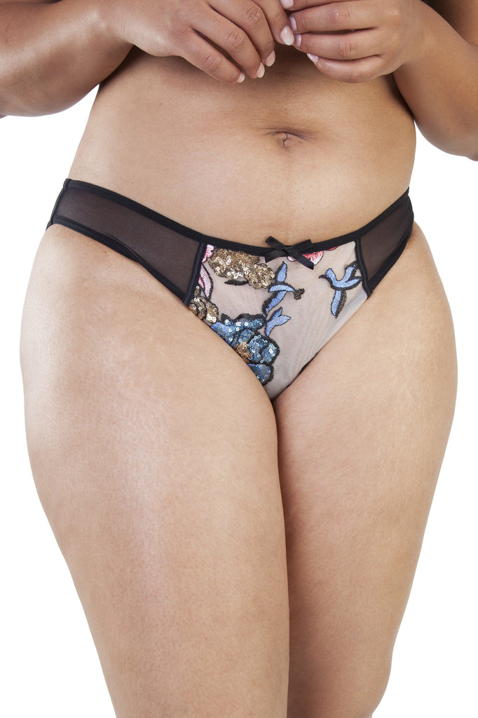 Gabi Fresh Celeste Sequined Brief