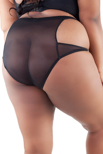 Peek & Beau - Faye Peek High Waist Brief Curve