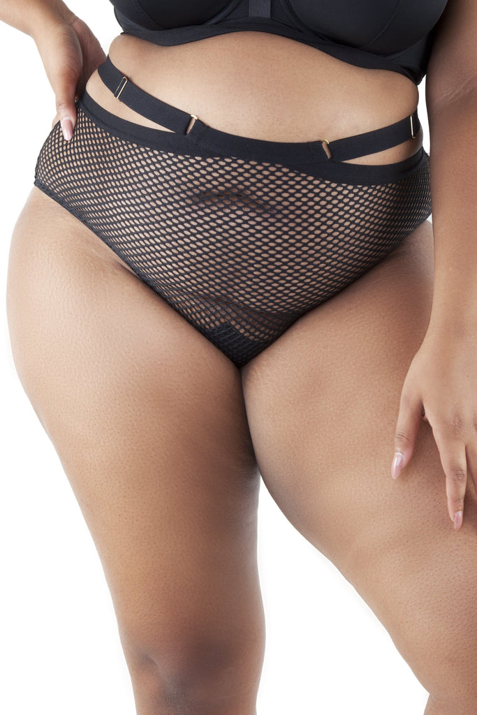 Gabi Fresh Madison Fishnet High Waist Brief