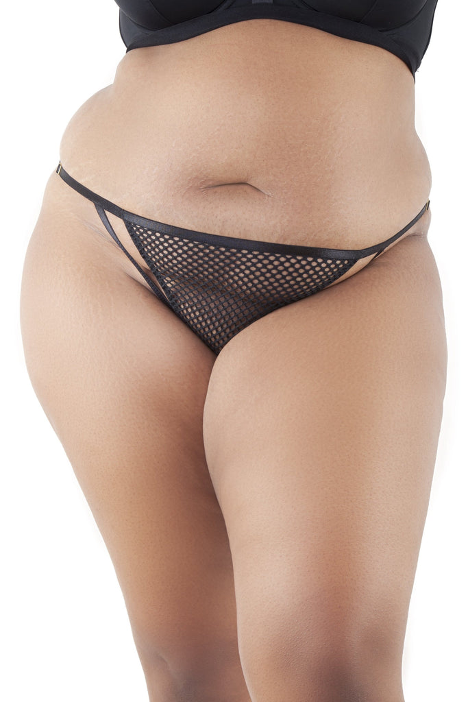 Gabi Fresh Madison Fishnet Strappy Brief