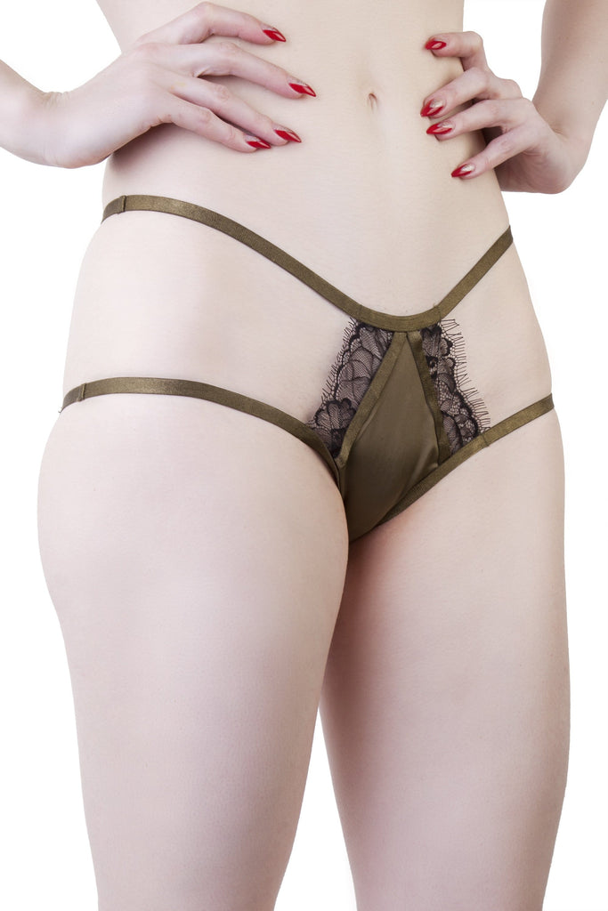 Alexa Black/Olive Brief