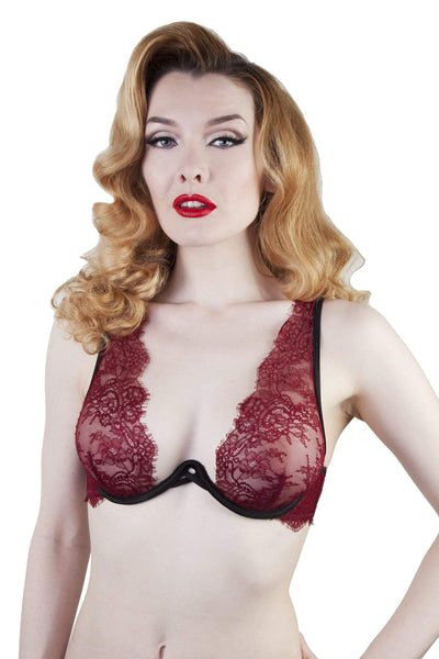 Zoe High Apex Lace Bra