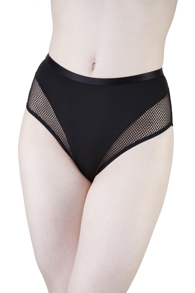 Peek & Beau Jazz Black Highwaist Brief