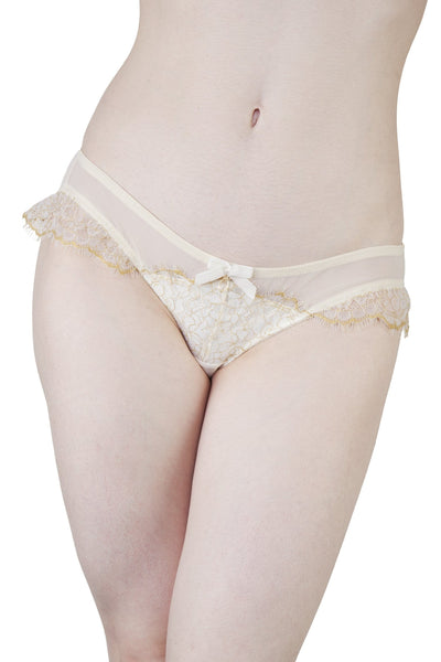 Karine Bridal Ivory/Gold Brief