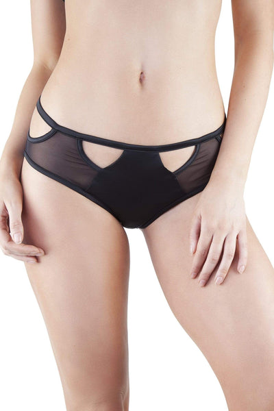 Junko Black Origami Cut-Out Brief