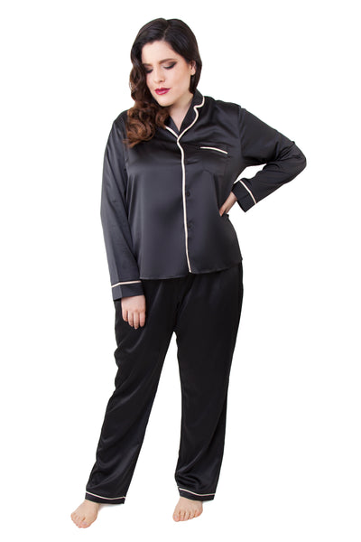 Smoking Suit Pyjama Set - Curve