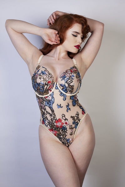 Eleanor Fuller bust Embroidery body DD/E - K