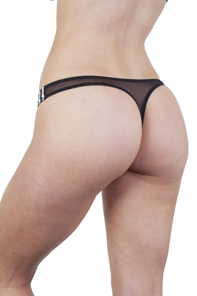 Beatrix Ivory Placement Stripe Thong Core