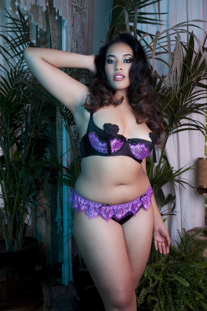Marlene Lilac Brief Curve