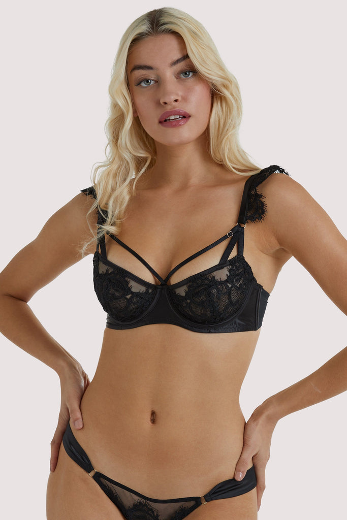 Playful Promises Anneliese Black Lace Bra