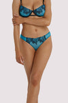Playful Promises Tiger Blue Hipster Brief