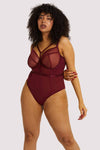 Gabi Fresh Harper Bordeaux Bodysuit