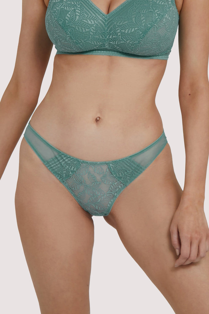 Deja Day Emma Moss Brazilian Lace Brief