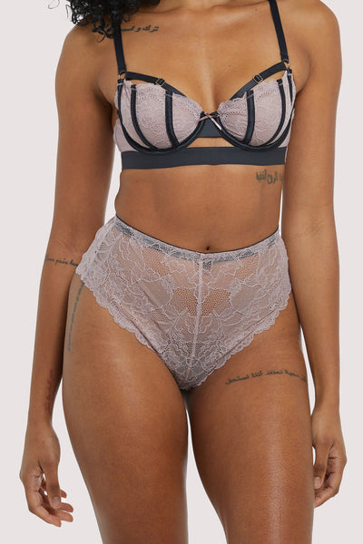 Felicity Hayward Celestina Pink High Waist Brief